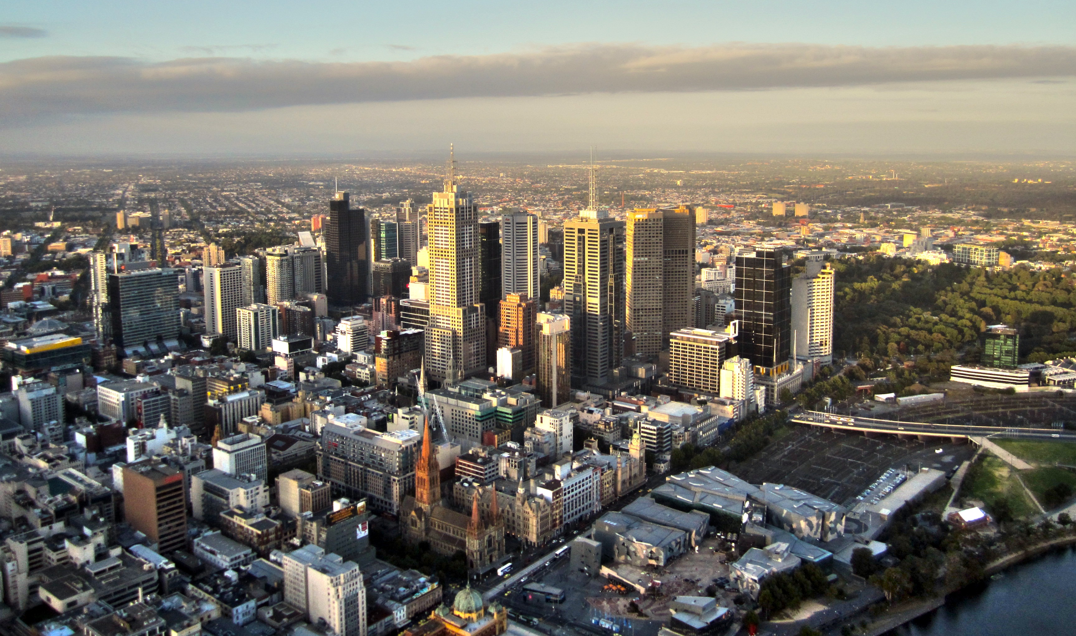 Melbourne is on track to be Australia's largest city as early as 2030