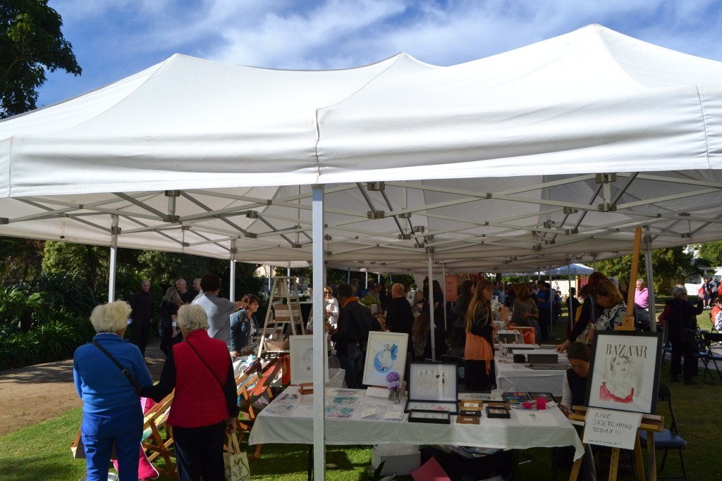 The Bayside Design Market, held in Billilla Gardens over the weekend.