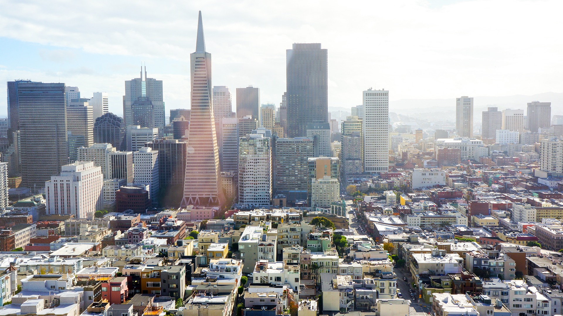 San Francisco, California. Among the most expensive real estate markets in the world.