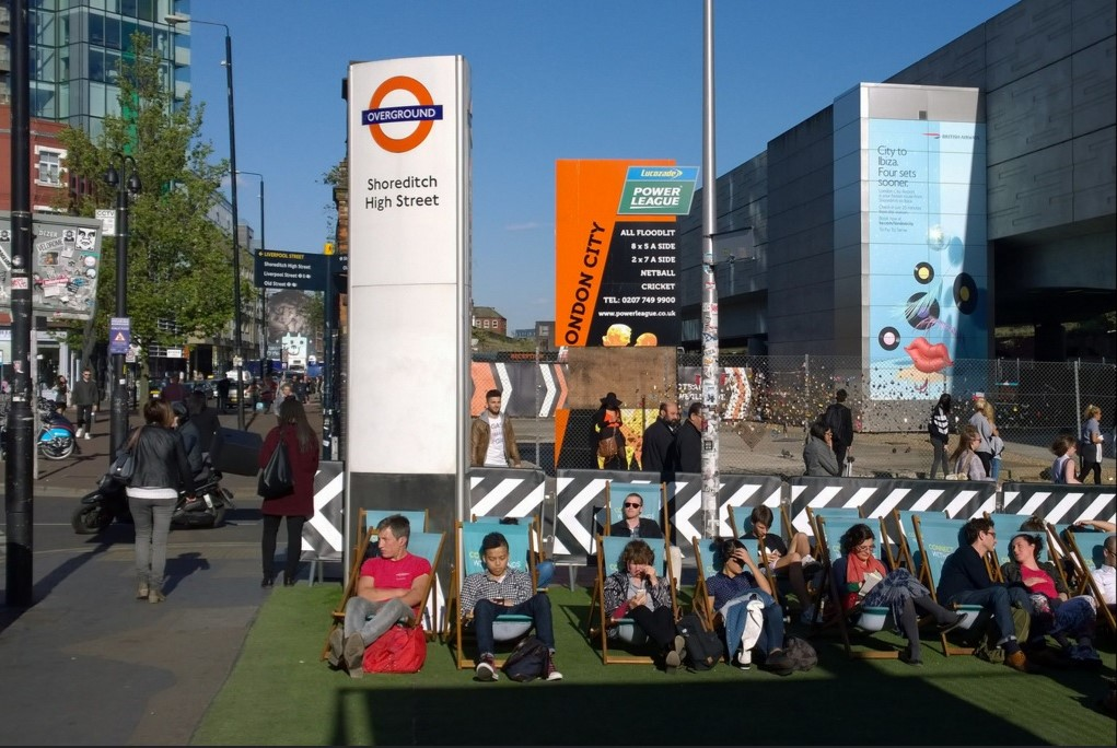 Shoreditch boast a young demographic and vibrant local culture to go along with its status as the epicentre of the UK tech scene. Picture: supplied.