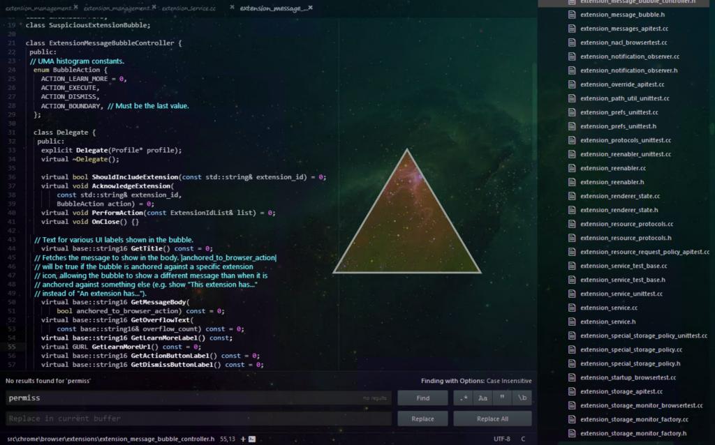 Atom Coding Program