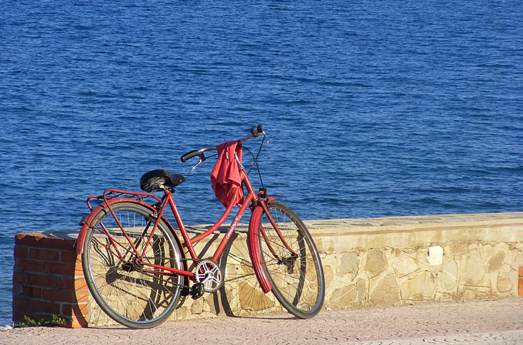 Bike at Beach
