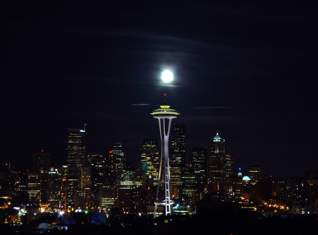 Seattleites don't need to wait for a full moon to get a rain dance going.